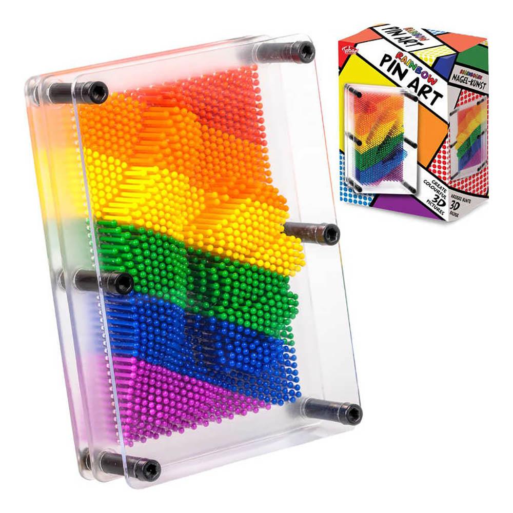 Pin Art Rainbow
