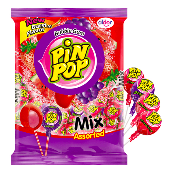 Pin Pop Klubbor Mix Storpack - 59-pack