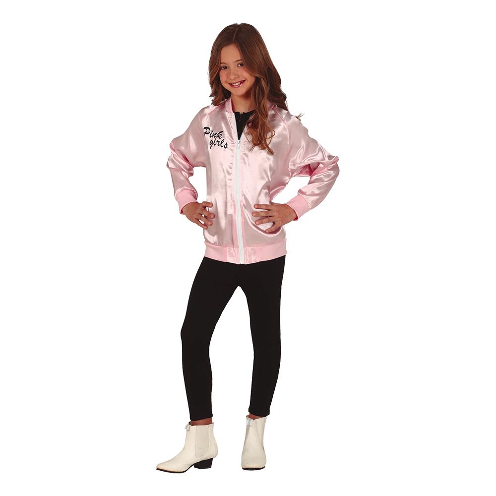 Pink Girls Jacka för Barn - Medium