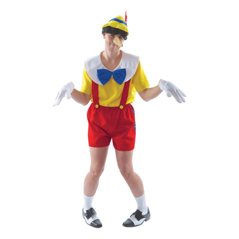Pinocchio Maskeraddräkt - Standard