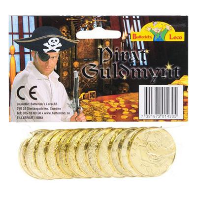 Pirat Guldmynt - 12-pack