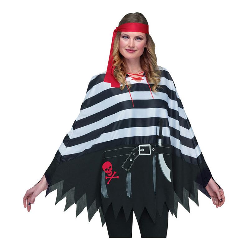 Pirat Poncho - One size