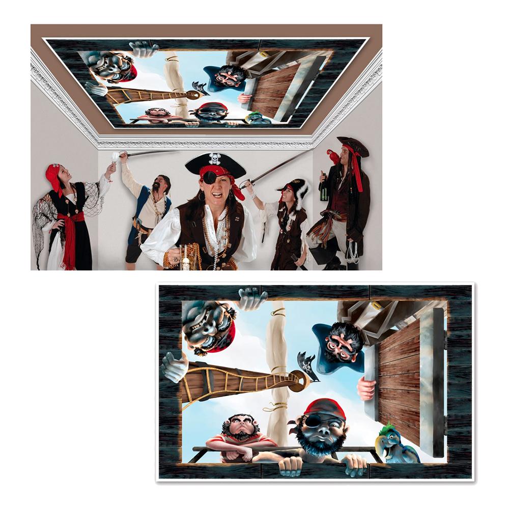 Pirat Takdekoration