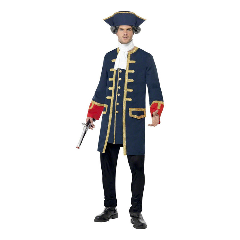 Piratkapten Maskeraddräkt - Medium