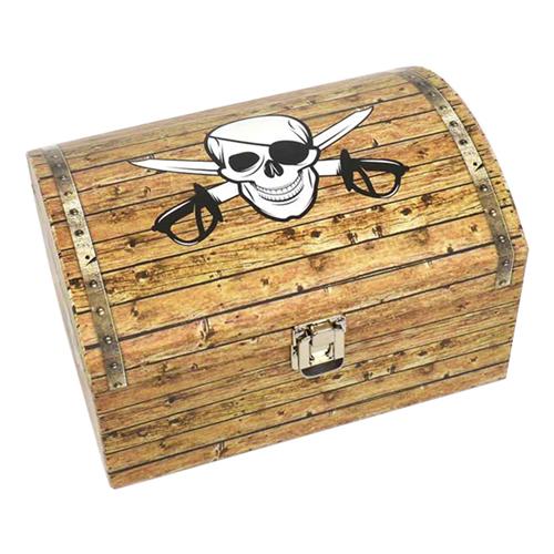 Piratkista med Metallås