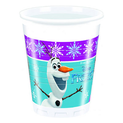 Plastmuggar Frost/Frozen Northern - 8-pack