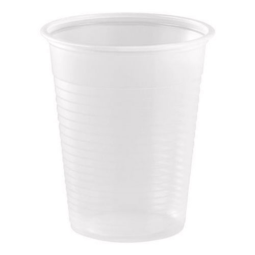 Plastmuggar Standard Vita - 50-pack