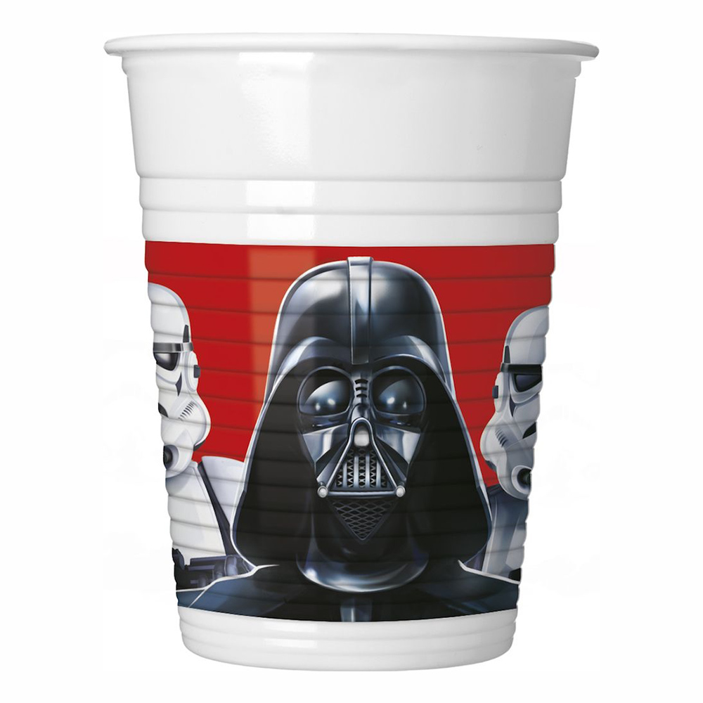 Plastmuggar Star Wars Final Battle - 8-pack
