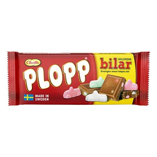 Plopp Ahlgrens Bilar Chokladkaka - 75 gram