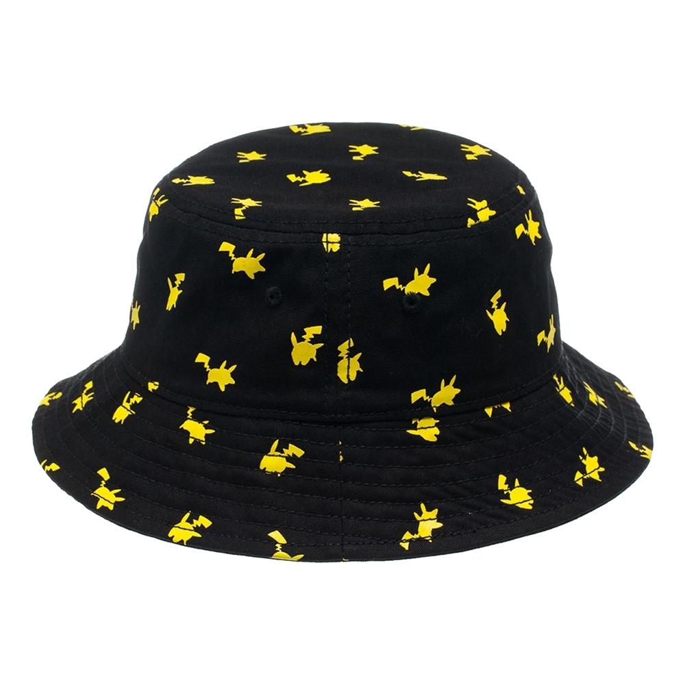 Pokemon Pikachu Svart Solhatt - One size