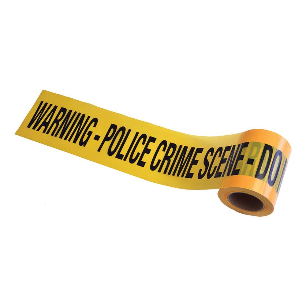 Police Crime Scene Avspärrningsband