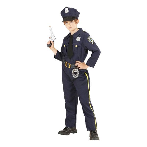 Polis Barn Maskeraddräkt - Small
