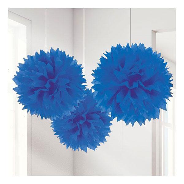 Pom Pom Mörkblå Hängande Dekoration