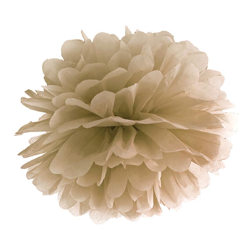 Pompom Guld - 25 cm