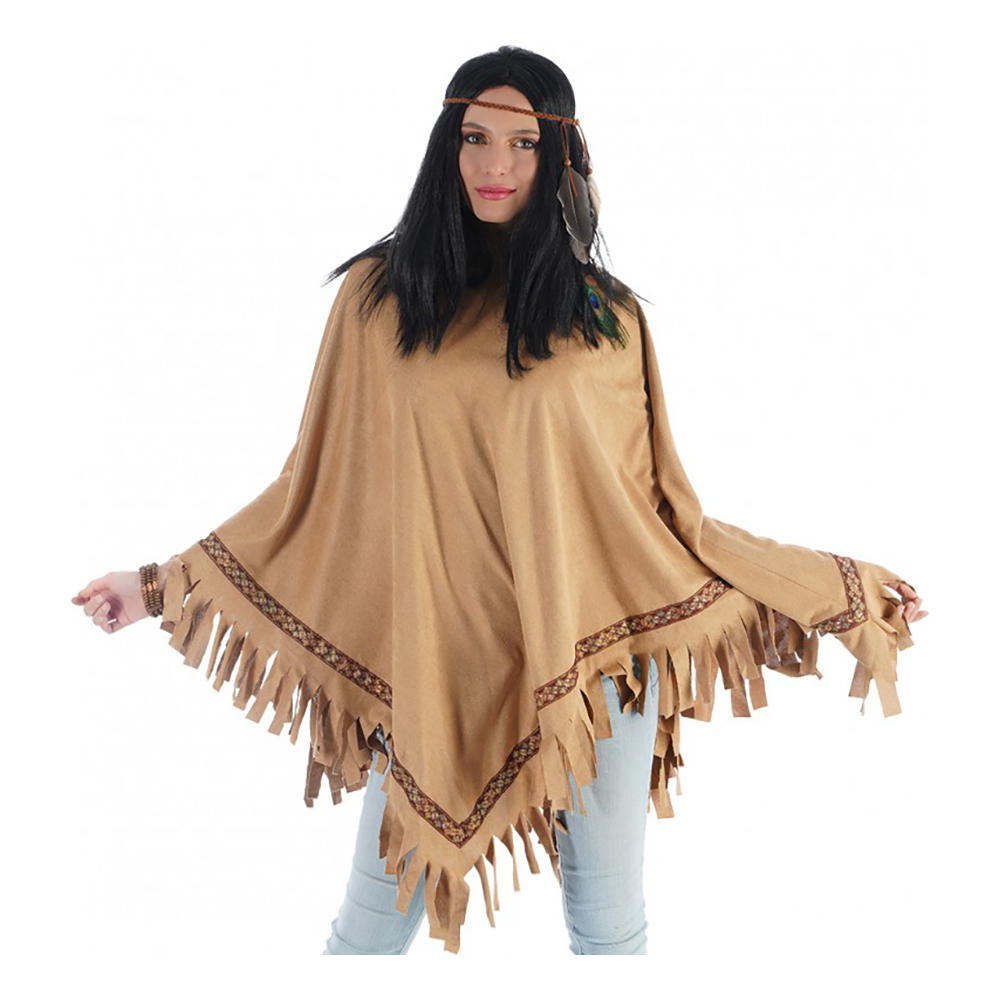 Poncho Natur - One size