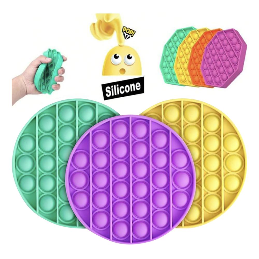 Pop It Fidget Toy - Kvadratisk Lila