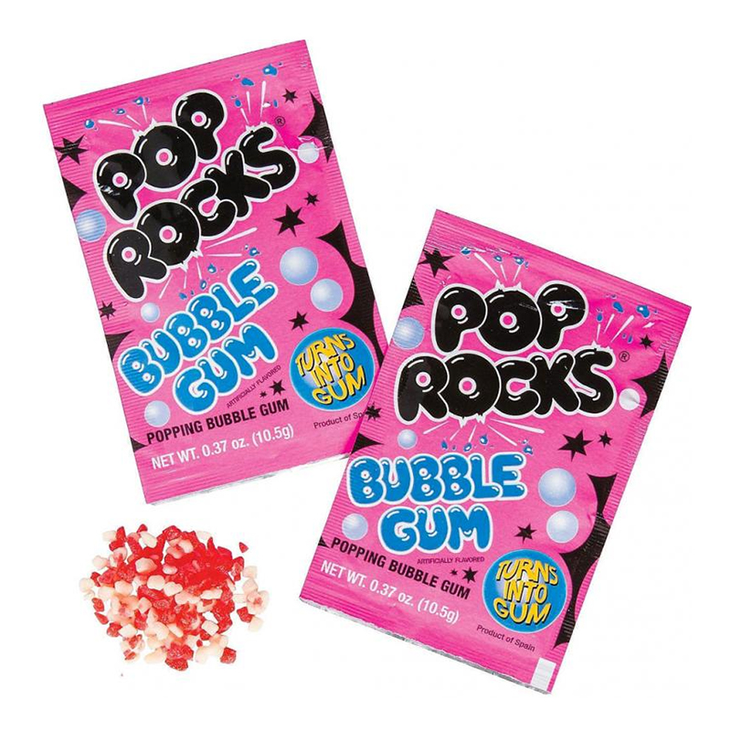 Pop Rocks Bubble Gum - 1-pack