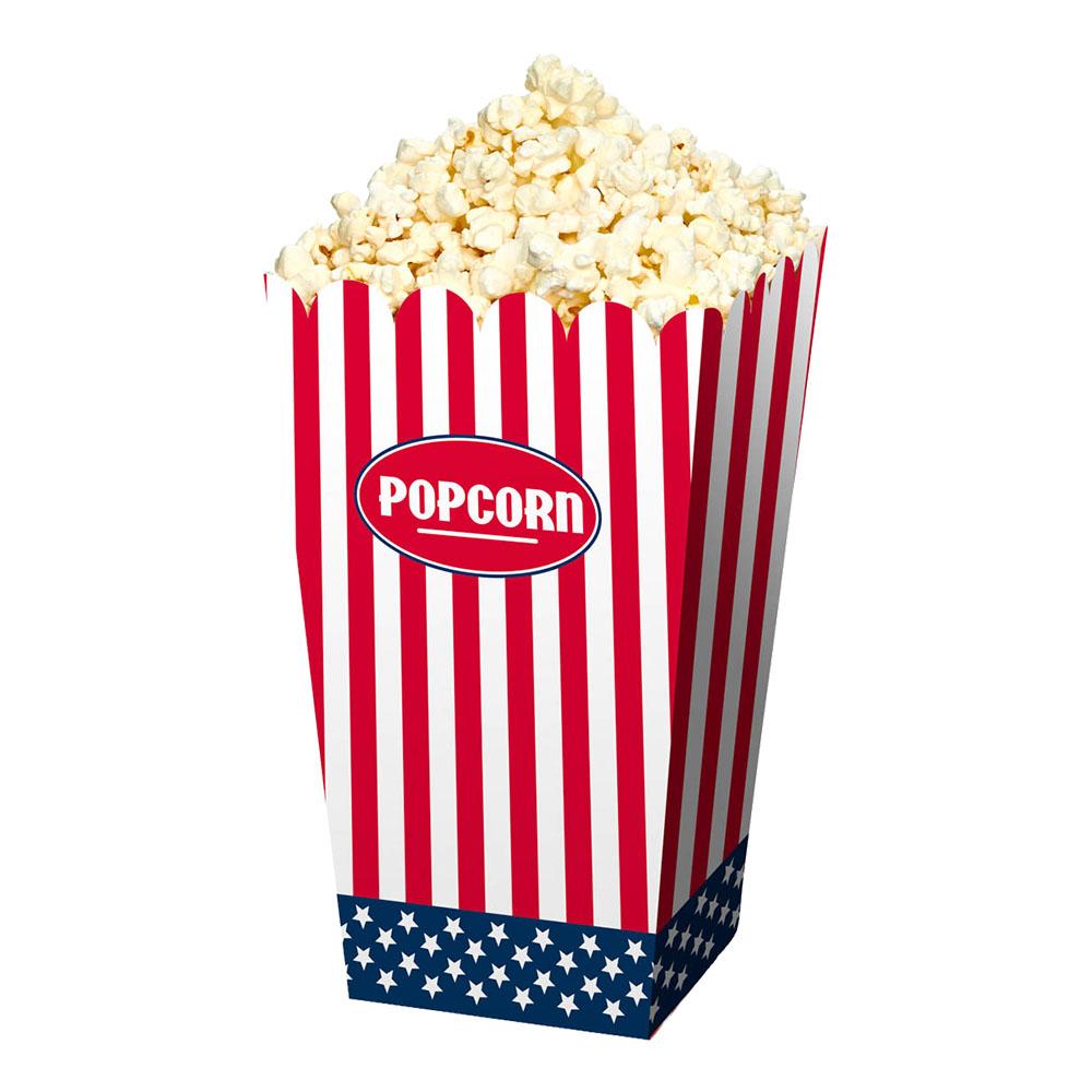 Popcornbägare USA - 4-pack