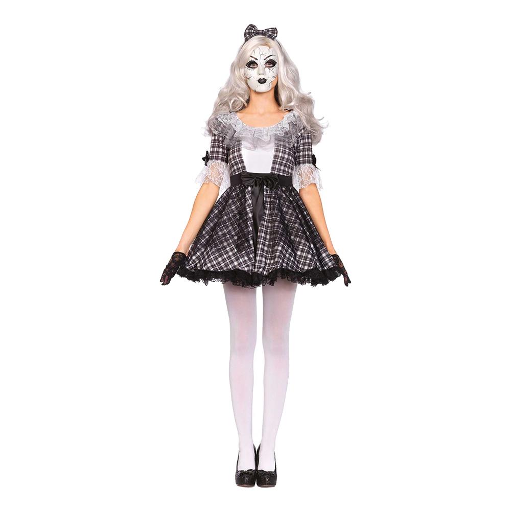 Porslinsdocka Halloween Deluxe Maskeraddräkt - Small