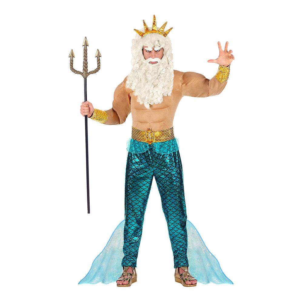 Poseidondräkter - Poseidon Maskeraddräkt - Small