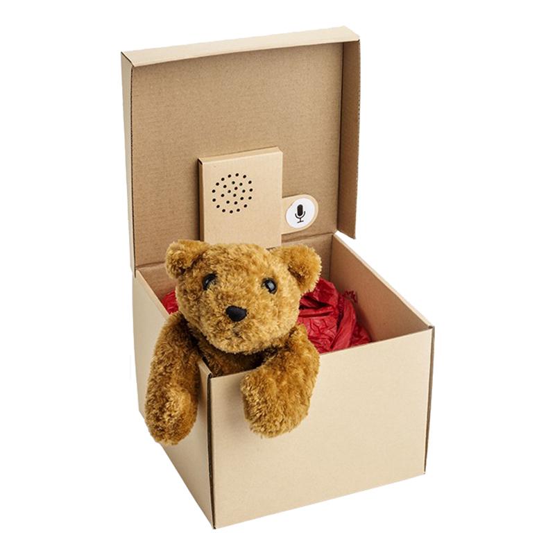 Presentbox med Ljudmeddelande