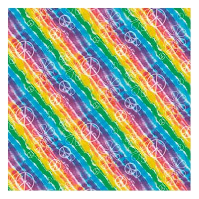 Presentpapper Tie Dye