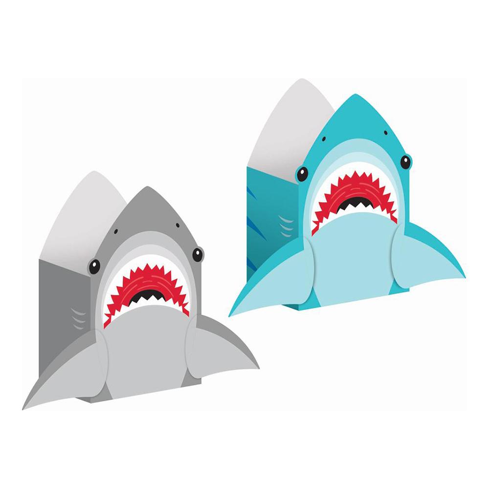 Presentpåsar i Papp Shark Party - 8