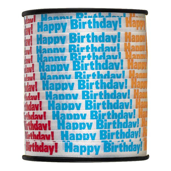 Presentsnöre Happy Birthday