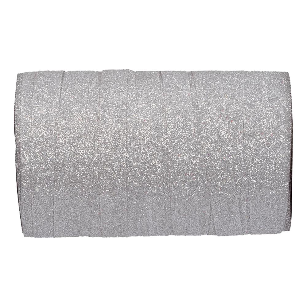 Presentsnöre Silver/Glitter - 1-pack