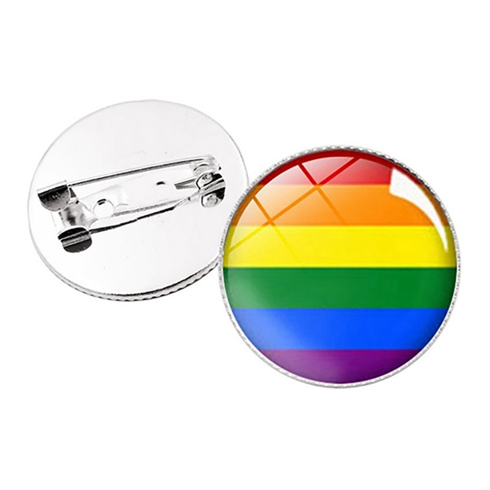 Pride Pins - Regnbågsfärgad