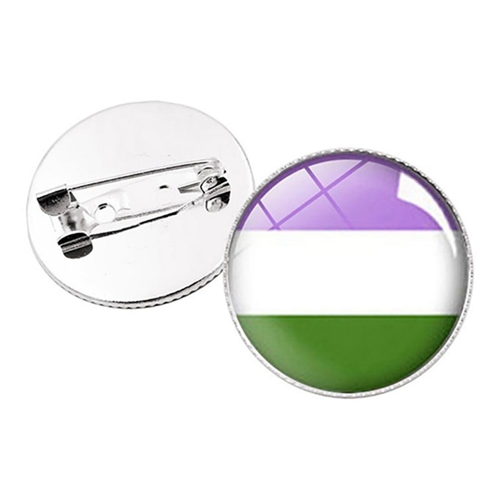 Pride Pins - Genderqueer