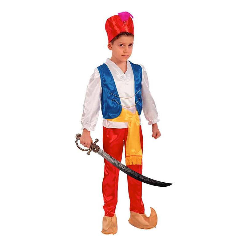 Prins Aladdin Barn Maskeraddräkt - 4-5 år