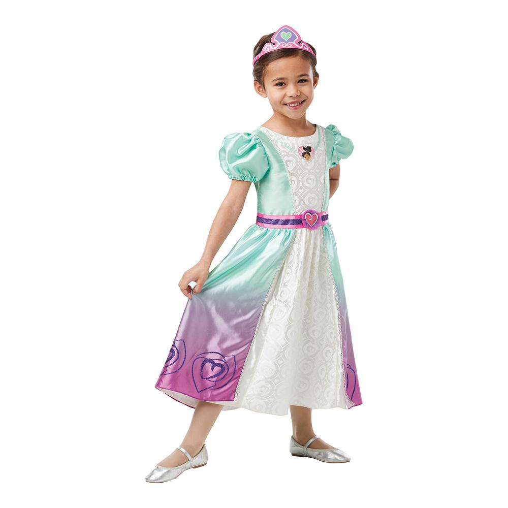 Prinsessan Nella Deluxe Barn Maskeraddräkt - X-Small