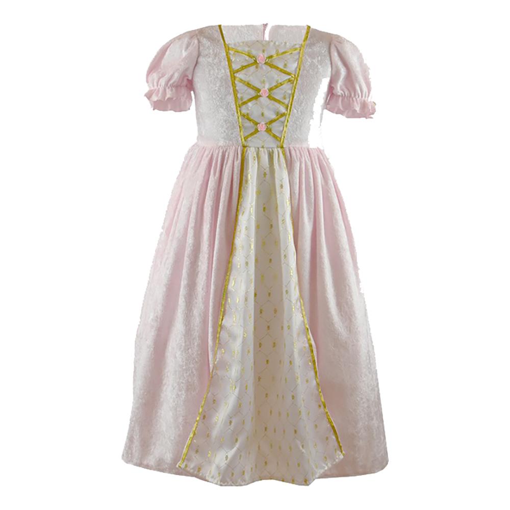 Prinsessklänning Sammetsrosa Barn - Medium