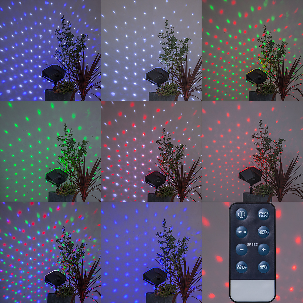 Projektorlampa LED Snö