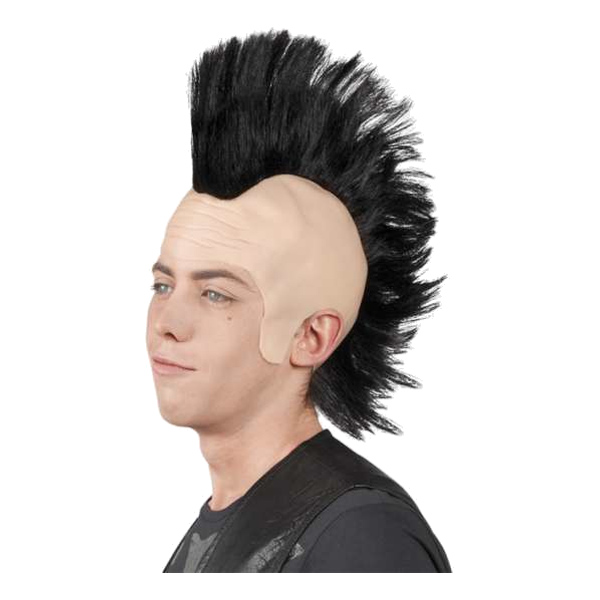 Punkperuk med Tuppkam - One size