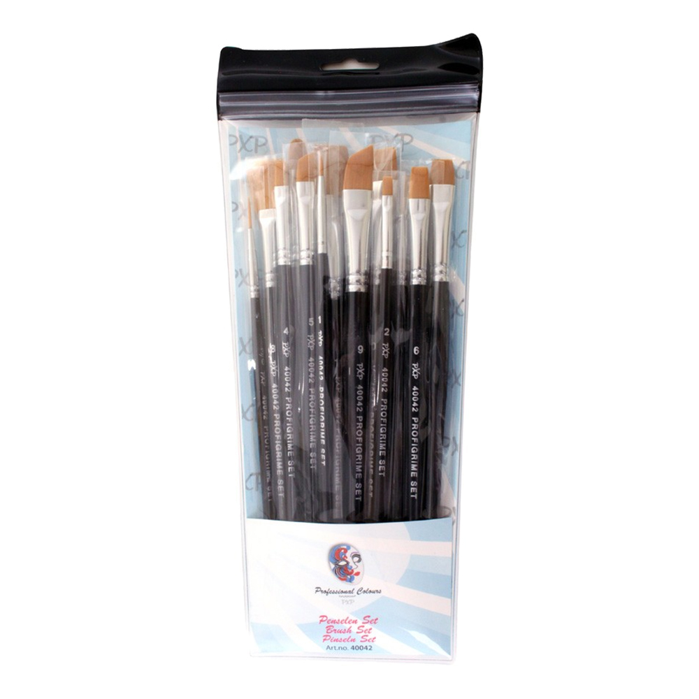 PXP Sminkpenslar Set - 15-pack