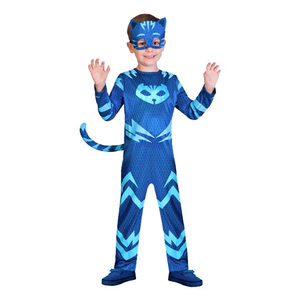 Utklädningsdräkter - Pyjamashjältarna Kattpojken Barn Maskeraddräkt - X-Small