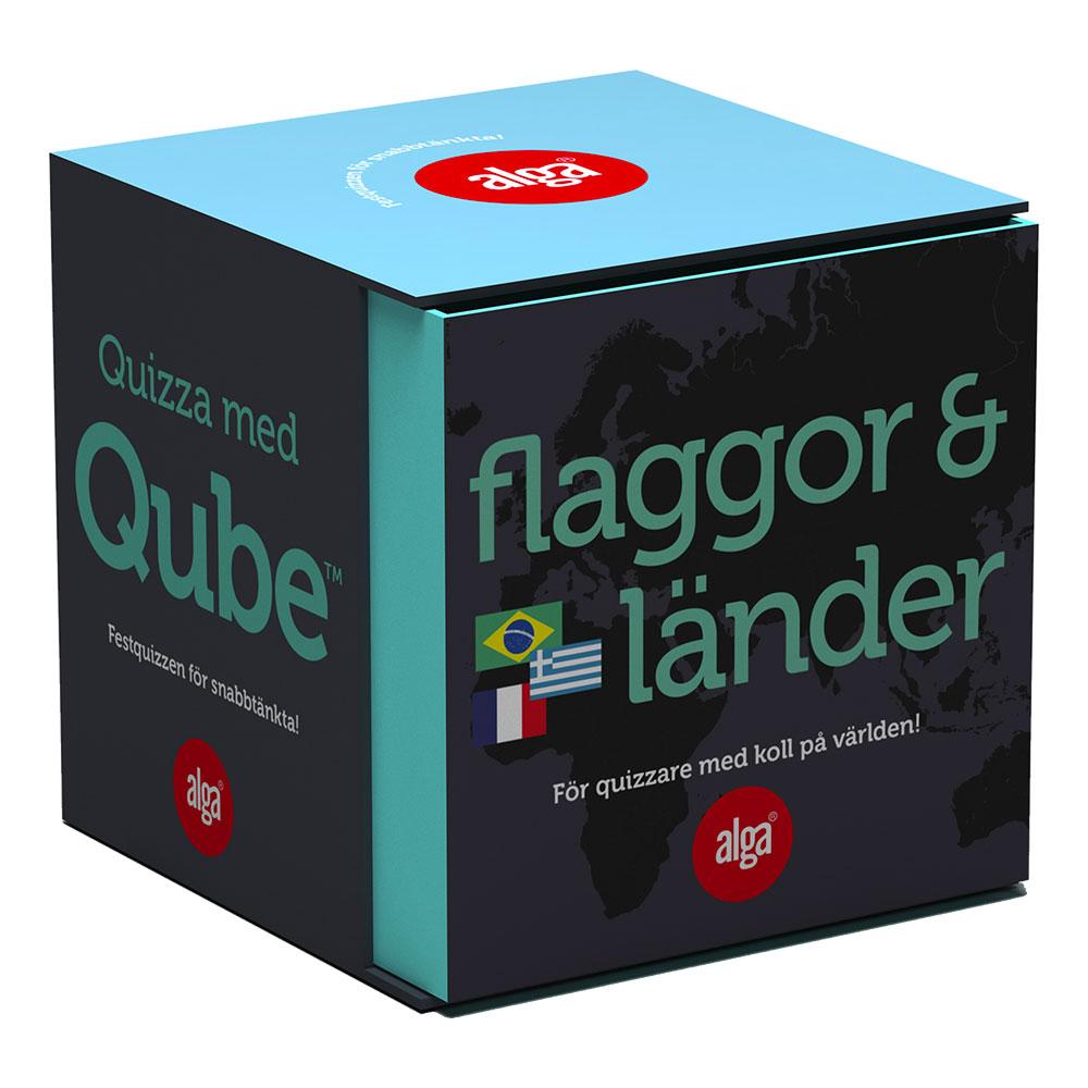 QUBE Flaggor & Länder