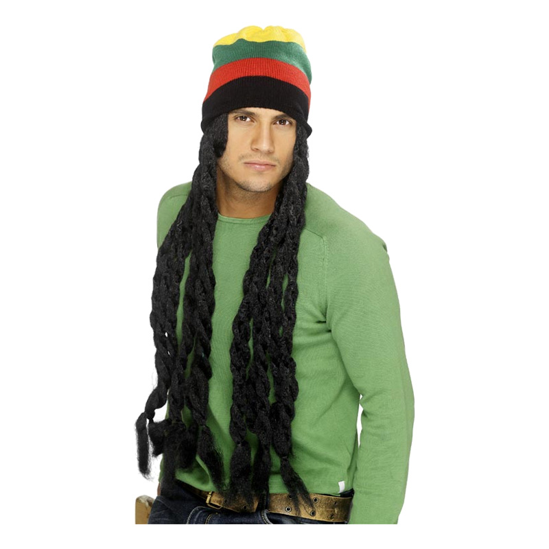 Rasta Peruk Set - One size