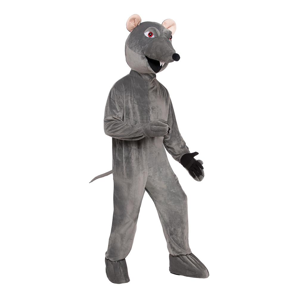 Råtta med Stort Huvud Maskeraddräkt - One size