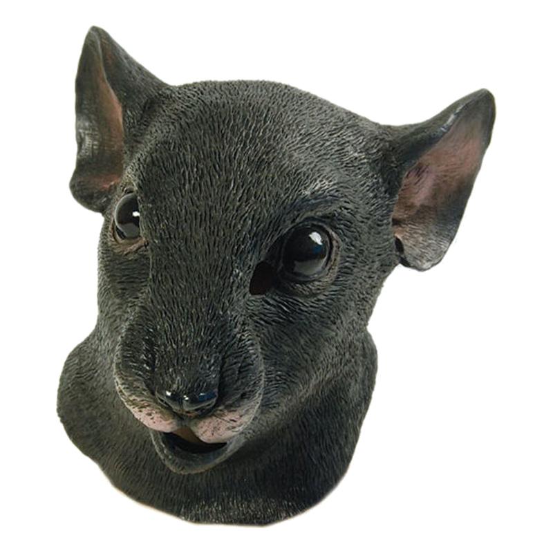 Djurmasker - Råttmask i Gummi - One size