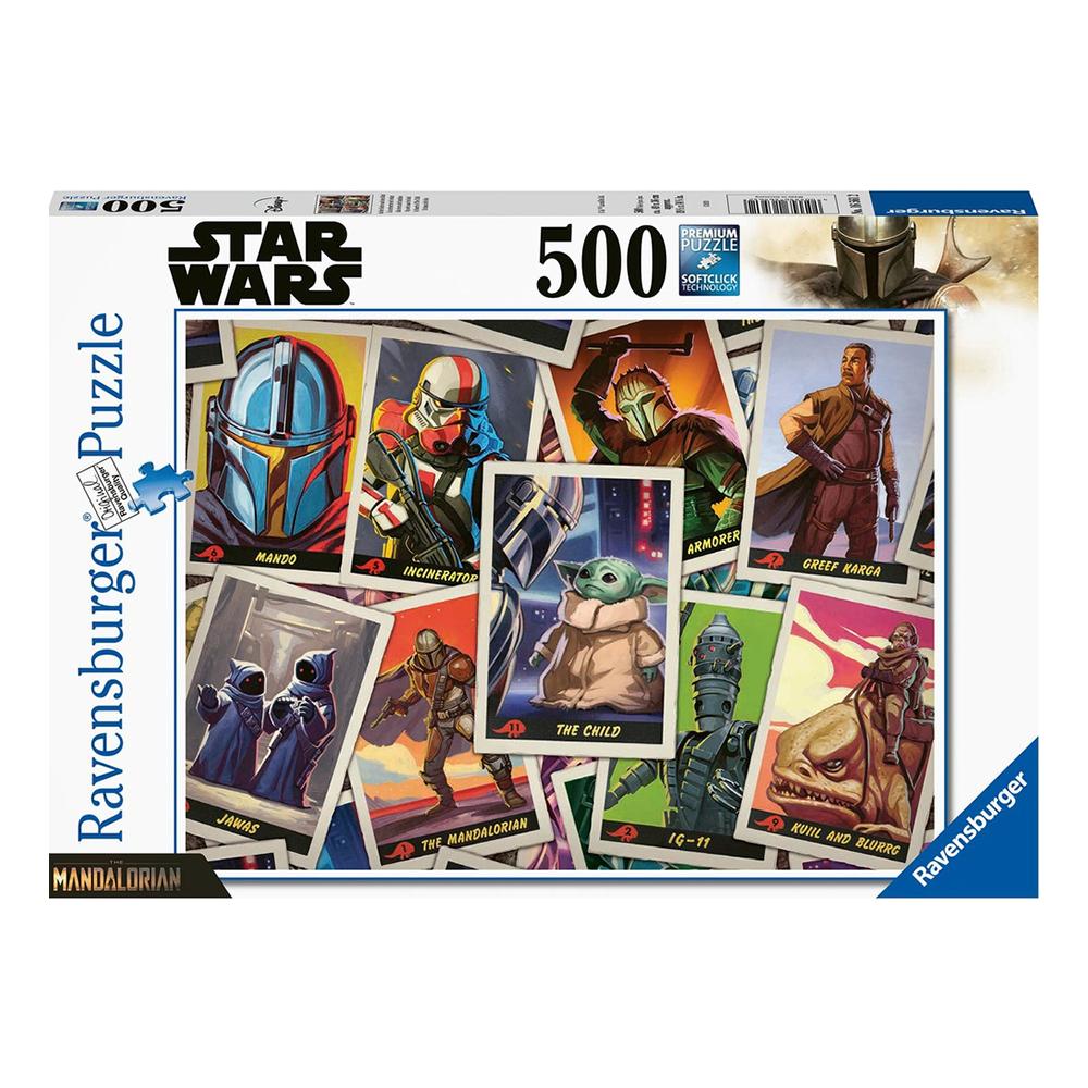 Ravensburger Pussel Star Wars The Mandalorian - 500 bitar