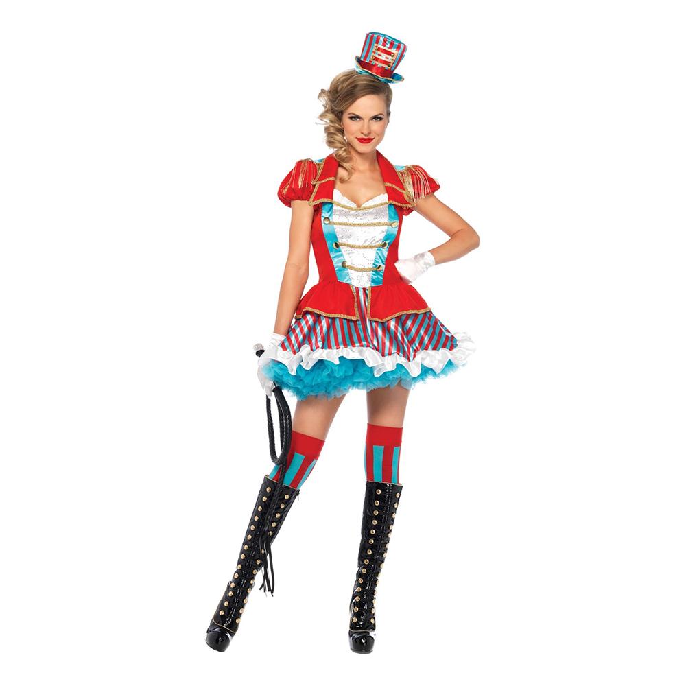Lejontämjare Cirkus Deluxe Maskeraddräkt - Small