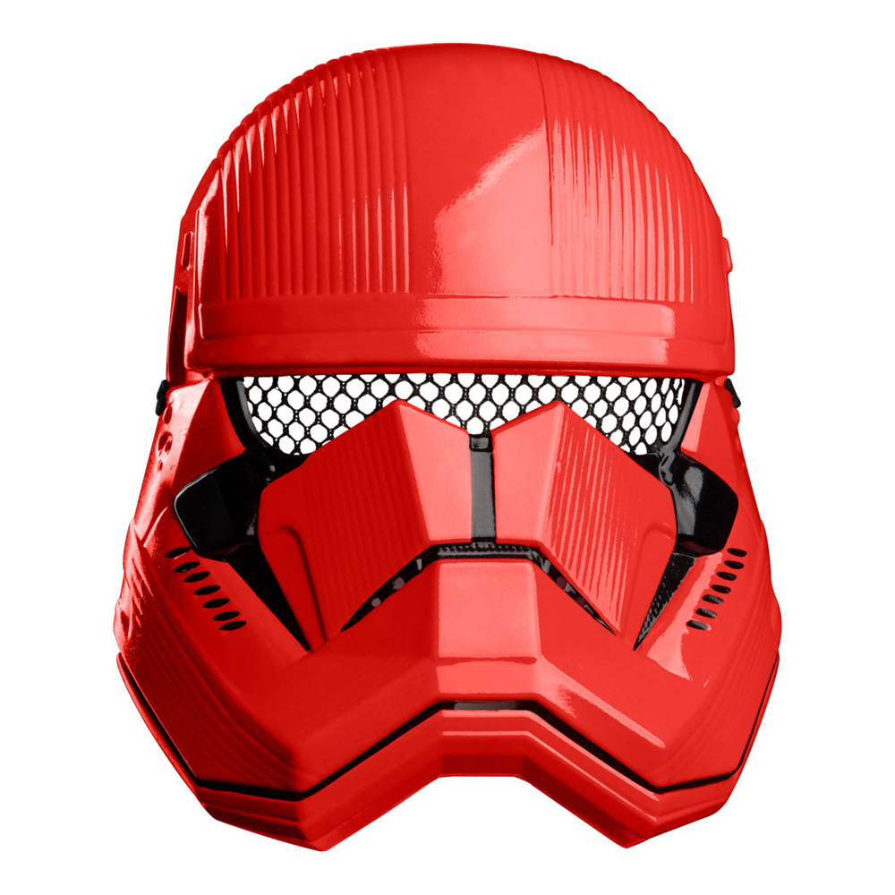 Red Trooper Deluxe 1/2 Mask - One size