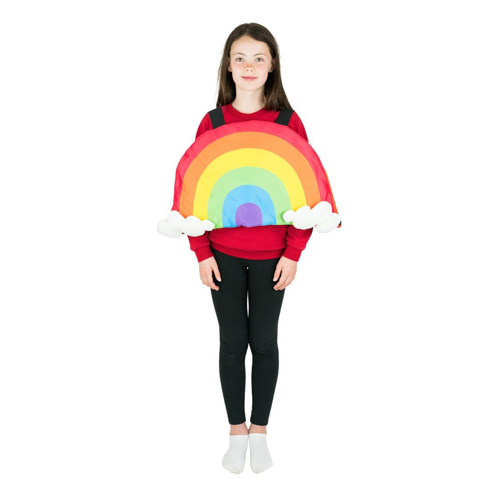 Regnbåge Barn Maskeraddräkt - One size