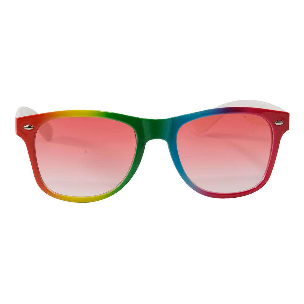 Regnbågsfärgade Solglasögon