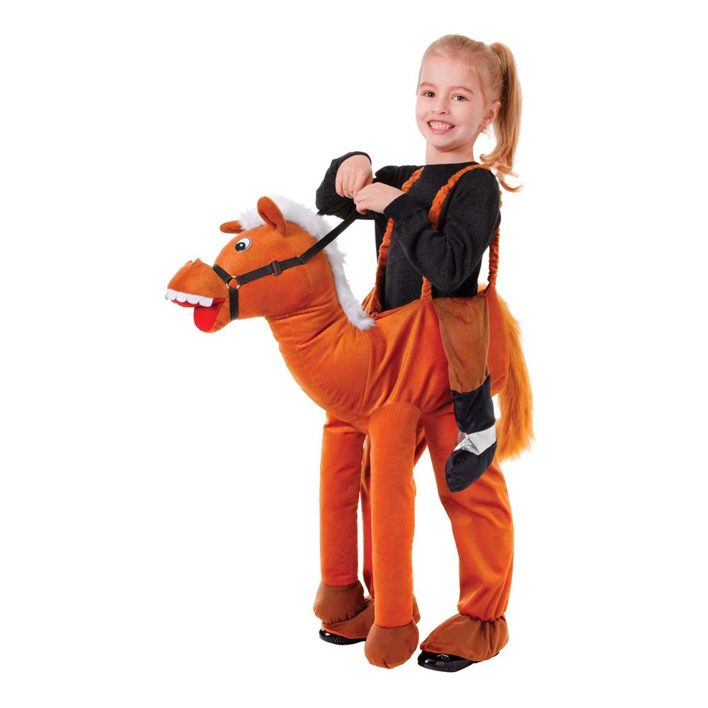 Ridande Häst Barn Maskeraddräkt - One size