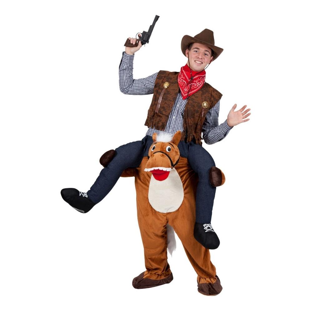 Carry Me Häst Maskeraddräkt - One size