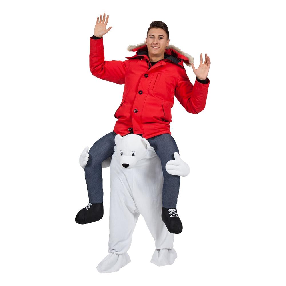 Carry Me Isbjörn Maskeraddräkt - One size